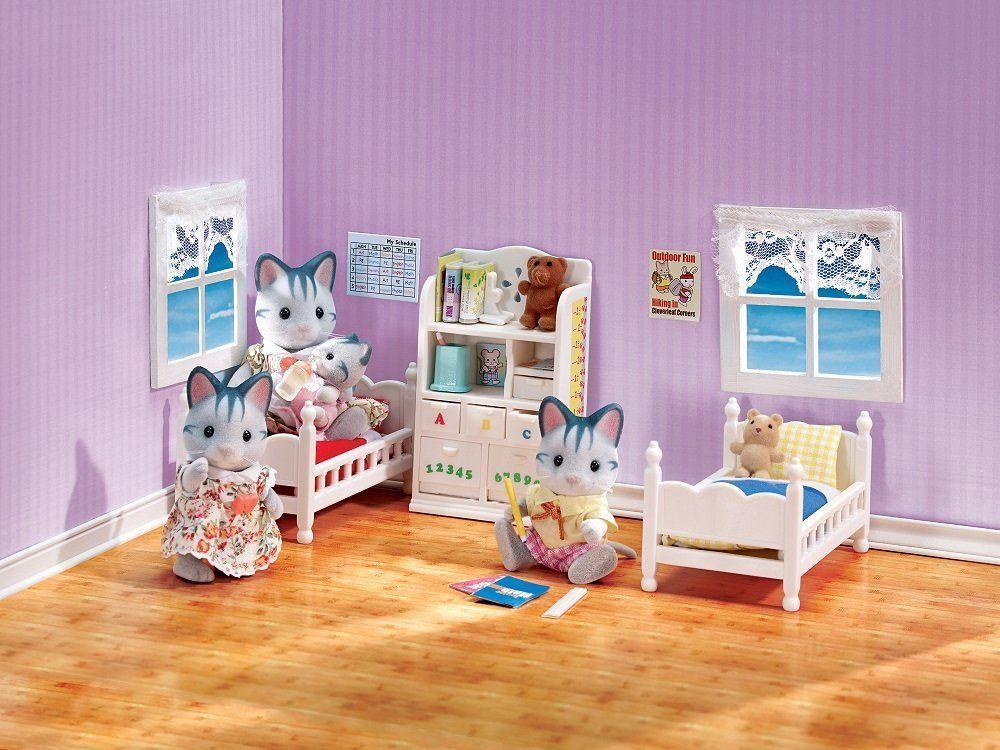 Calico Critters Children's Bedroom Set Toys