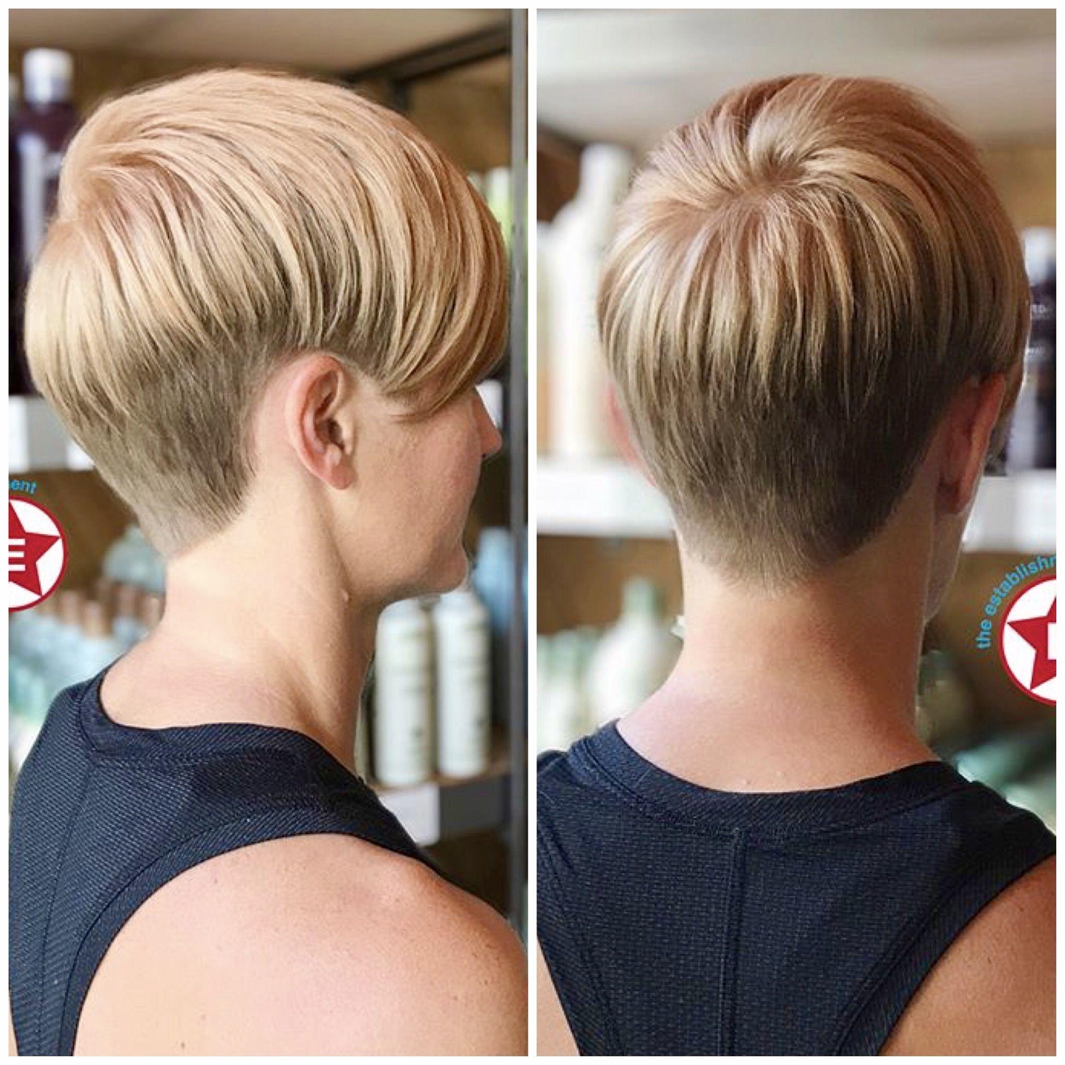 Establishmentla haj és szépségápolás pinterest short hair