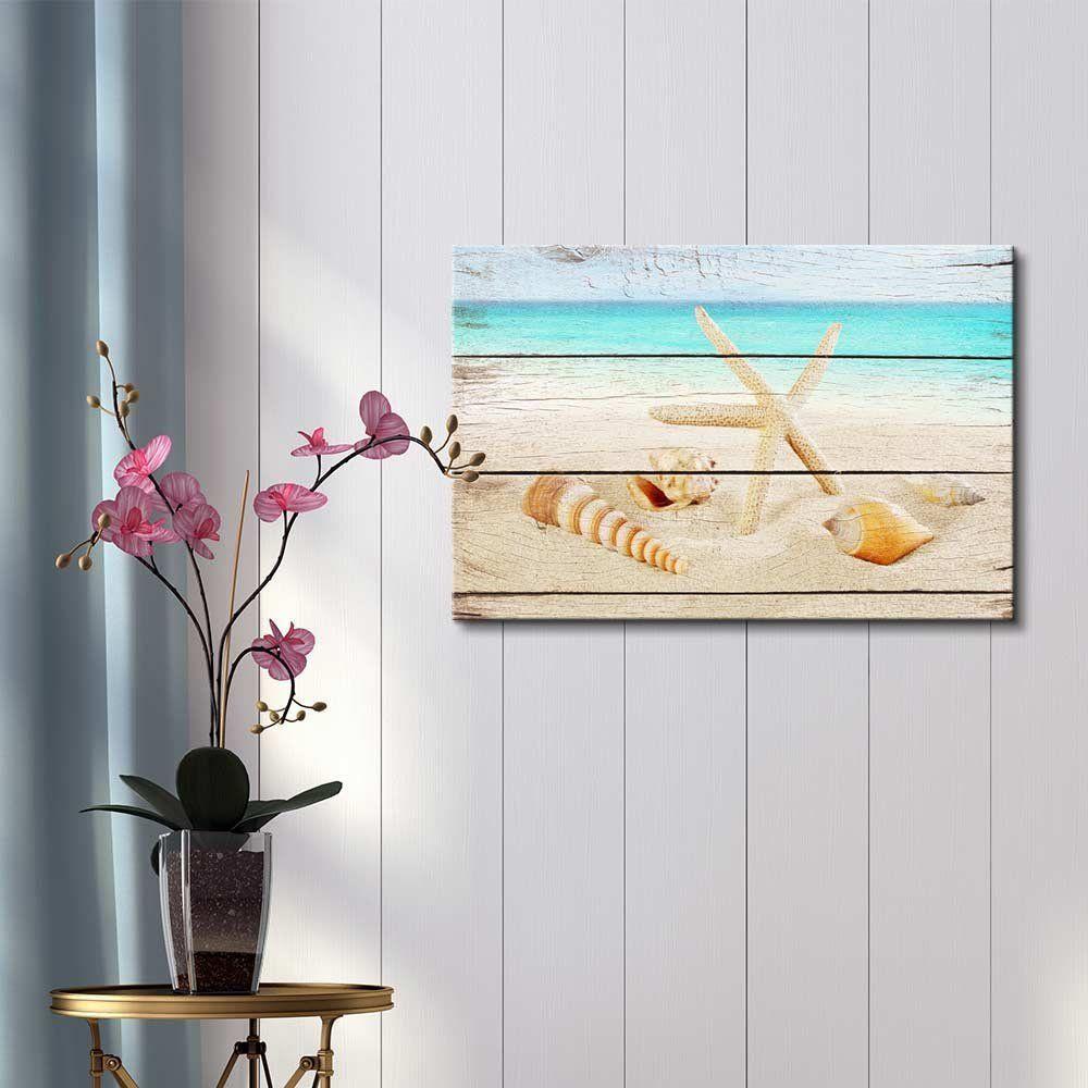 Amazon Com Wall26 Canvas Prints Wall Art Starfish And