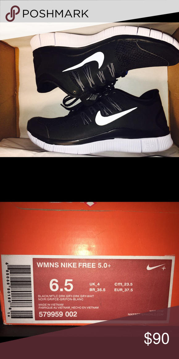 Women s Nike Free 5.0+ Brand new women s Nike frees! Never worn and in  perfect condition. In original box and packaging. Nike Shoes Athletic Shoes 4256904c77
