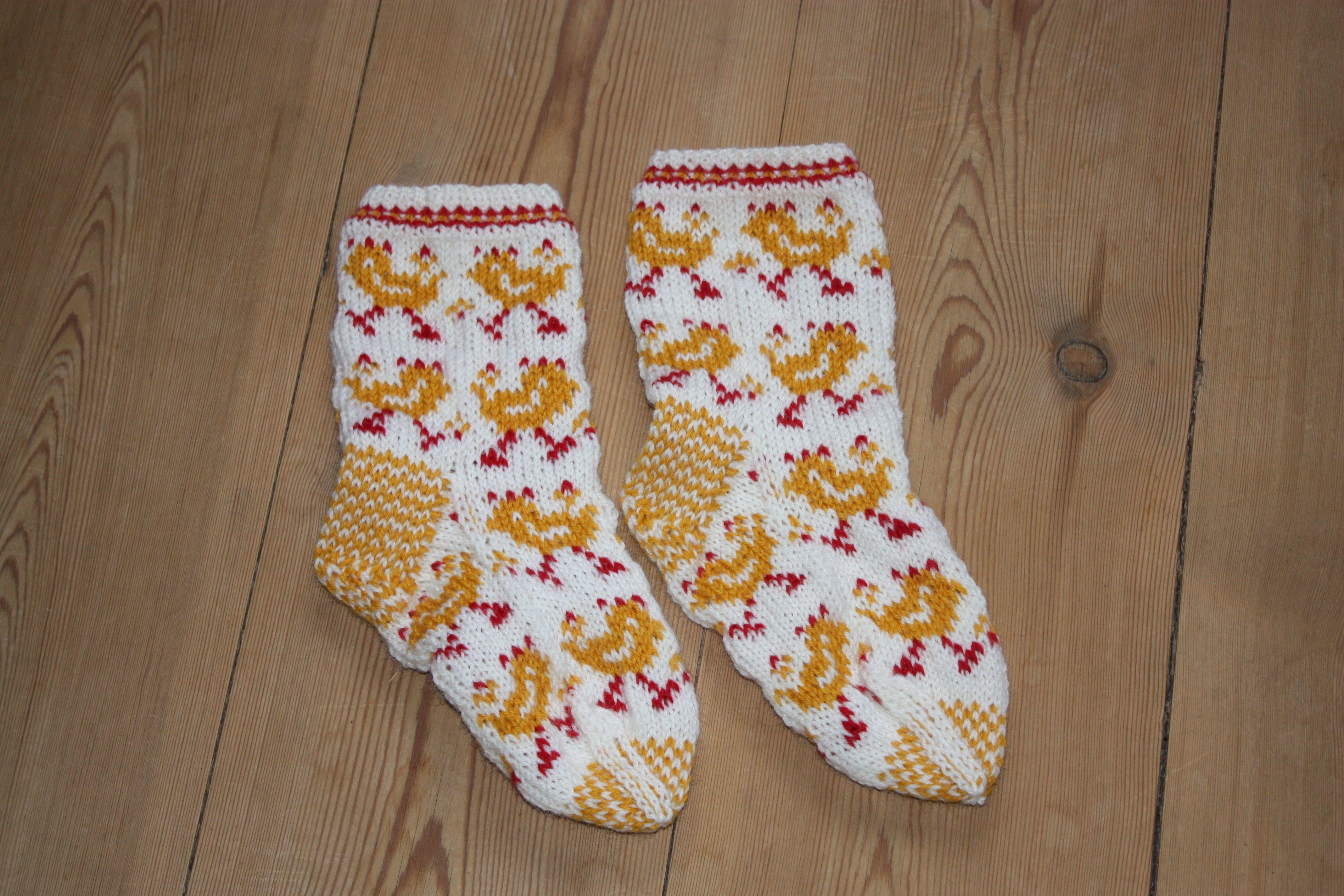 Easter socks.