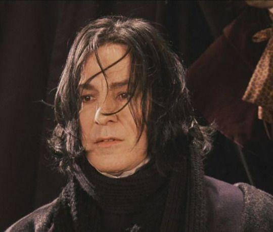 Alan Rickman As Severus Snape In Harry Potter And The Philosopher S Stone Severus Snape Alan Rickman Severus Snape Alan Rickman
