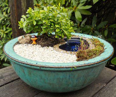 HGTV does miniature gardening!