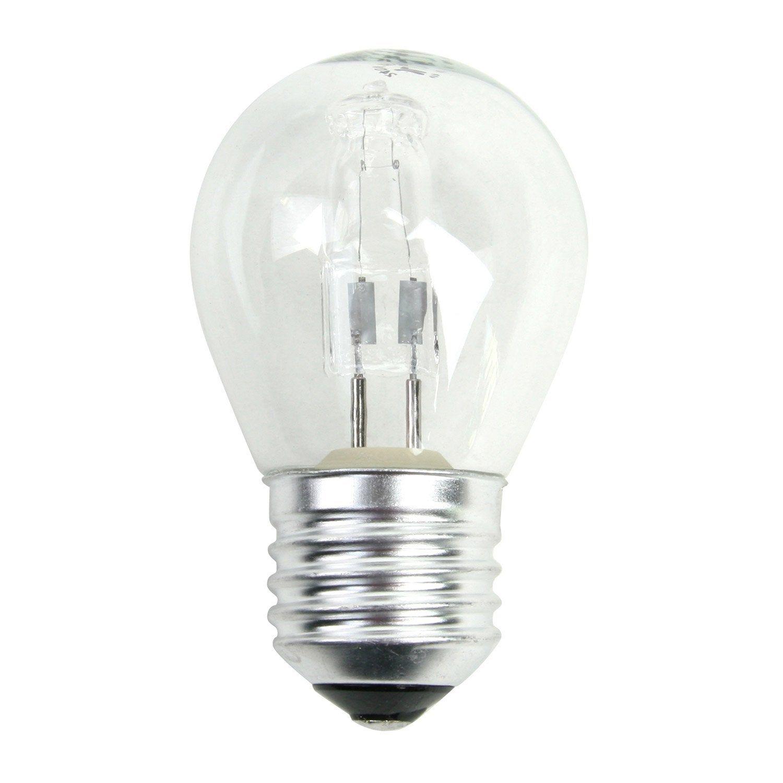Ampoule Sphérique Halogène 20w 235lm équiv 25w E27 2700k