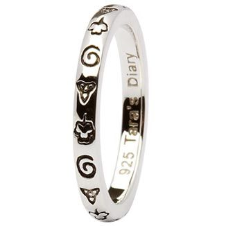 The Taras Diary Celtic Symbols Stacking Ring Features Ancient