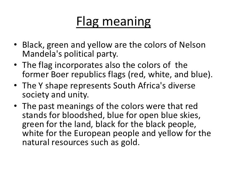 African Flag Definition African Flag Republic Flag Political Party