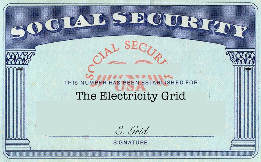 The U S Electric Grid Has A Baby Boomer Social Security Problem Card Templates Free Printed Cards Id Card Template