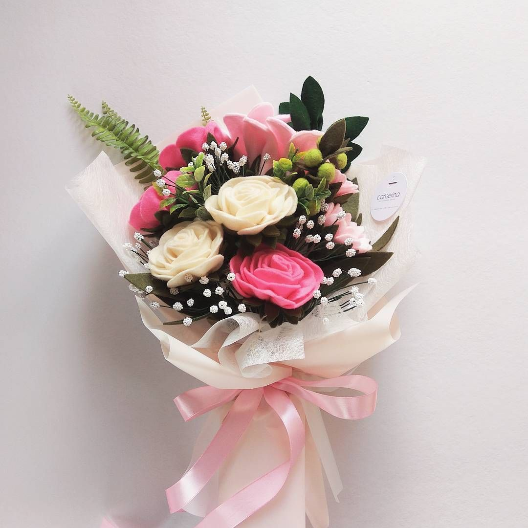 297 Curtidas 4 Comentarios Canserina Felt Flowers Craft
