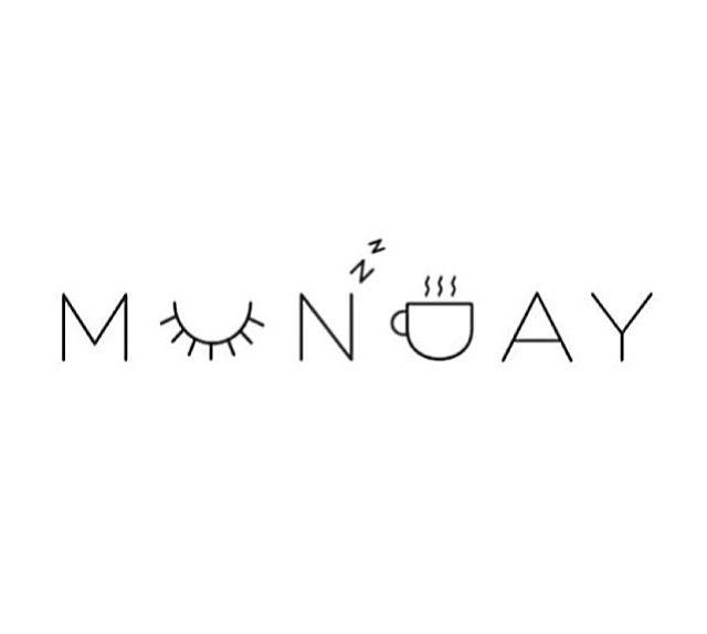 Mondayy. ☕