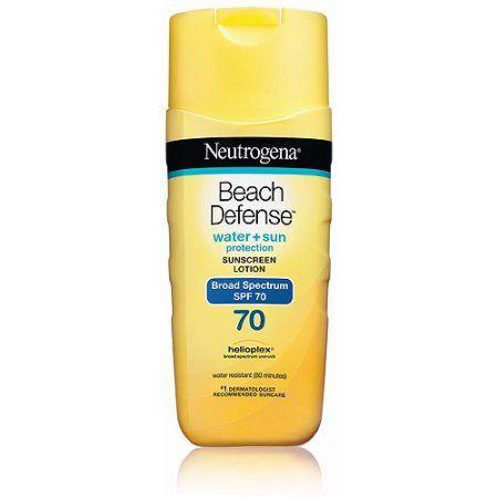 Neutrogena Beach Defense Sunscreen Body Lotion Broad Spectrum Spf 70, 6.7 Oz., Multicolor