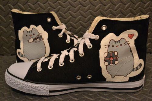 5f4a1f4d69f0a pusheen+shoes | Pusheen cake | Casual Shoes | Pusheen, Shoes ...