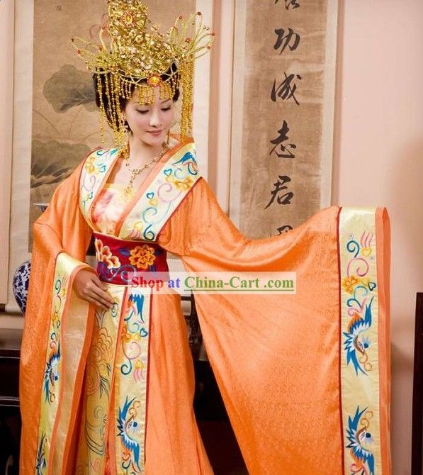 Supreme Chinese Emperor and Empress Clothing Complete Set for Women