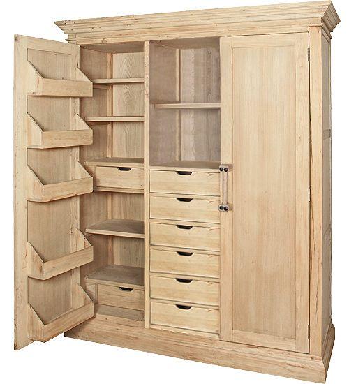 Armario despensero entourage furniture vitrinas cupboard tall cabinet storage y locker storage Armario despensa cocina
