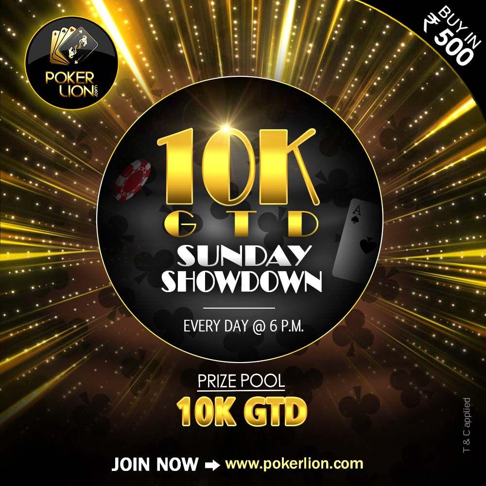 PokerLion Glory Online poker, Poker, Poker tournament