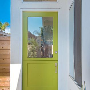 Modern Dutch Door