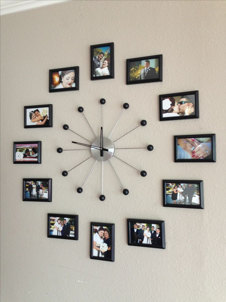 Picture Frames Collage Wall Ideas #wallcollage