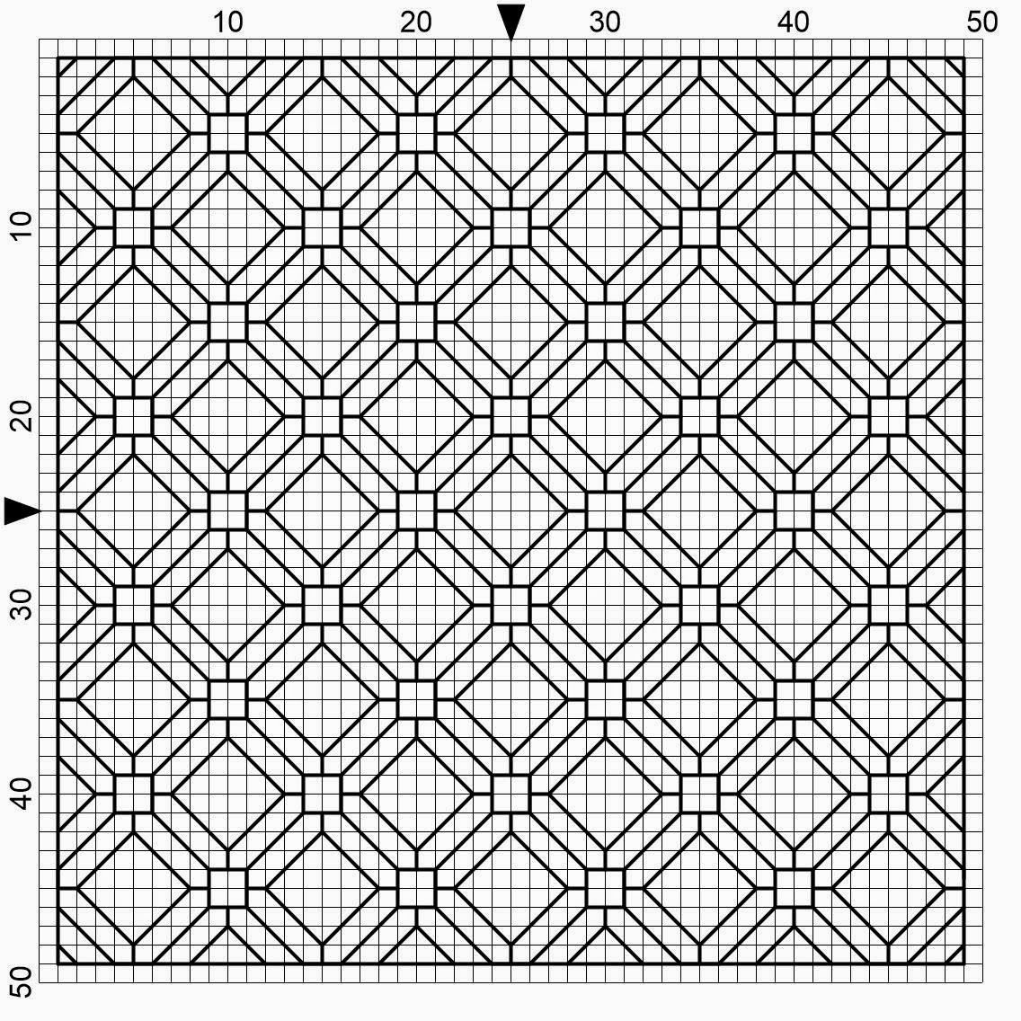 Here you will find blackwork fill patterns and repeating patterns