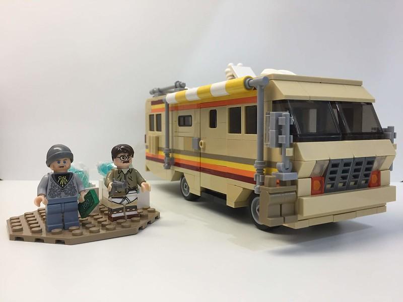 Breaking Bad Rv The Krystal Ship Breaking Bad Lego Moc Rv