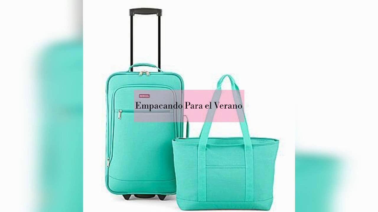 How to pack for summer vacation. Como empacas para nuestras vacaciones de verano. Summer essential.
