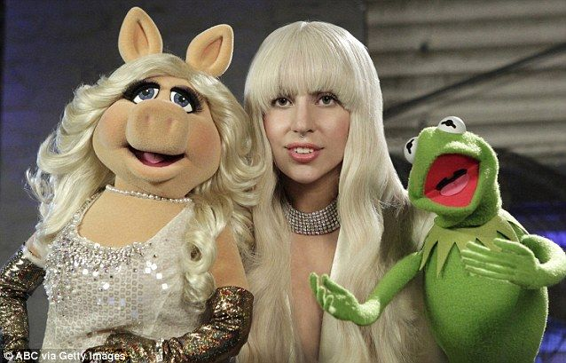 Lady Gaga\u0027s heads to SNL rehearsal in flared red outfit Kermit