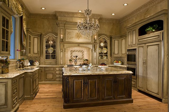 20 Jaw Dropping Luxury Kitchen Design Ideas | Luxury kitchens ...