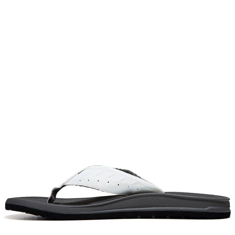 Reef Men's Phantom Thong Sandals (White/Grey)