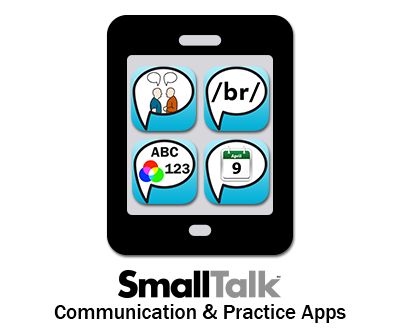 SmallTalk apps available for download now! apps aphasia