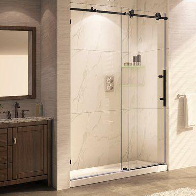 Langham 60 Quot X 75 Quot Single Sliding Frameless Shower Door