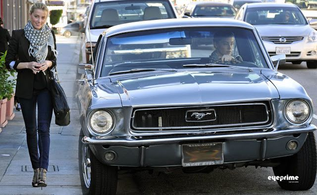 68 Mustang - Amber Heard, love get car. 3.