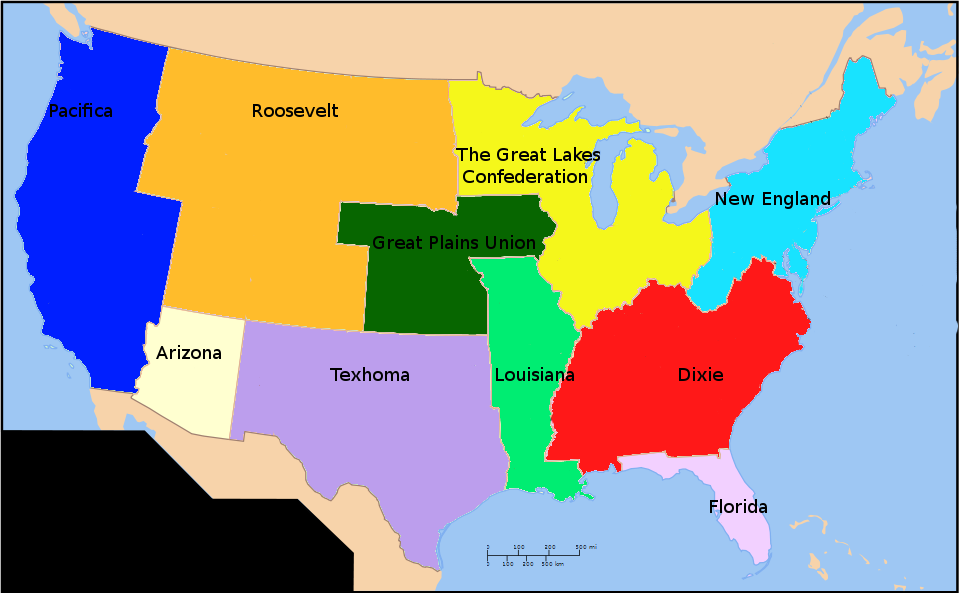 America With State Names Alternate North Maps Pinterest