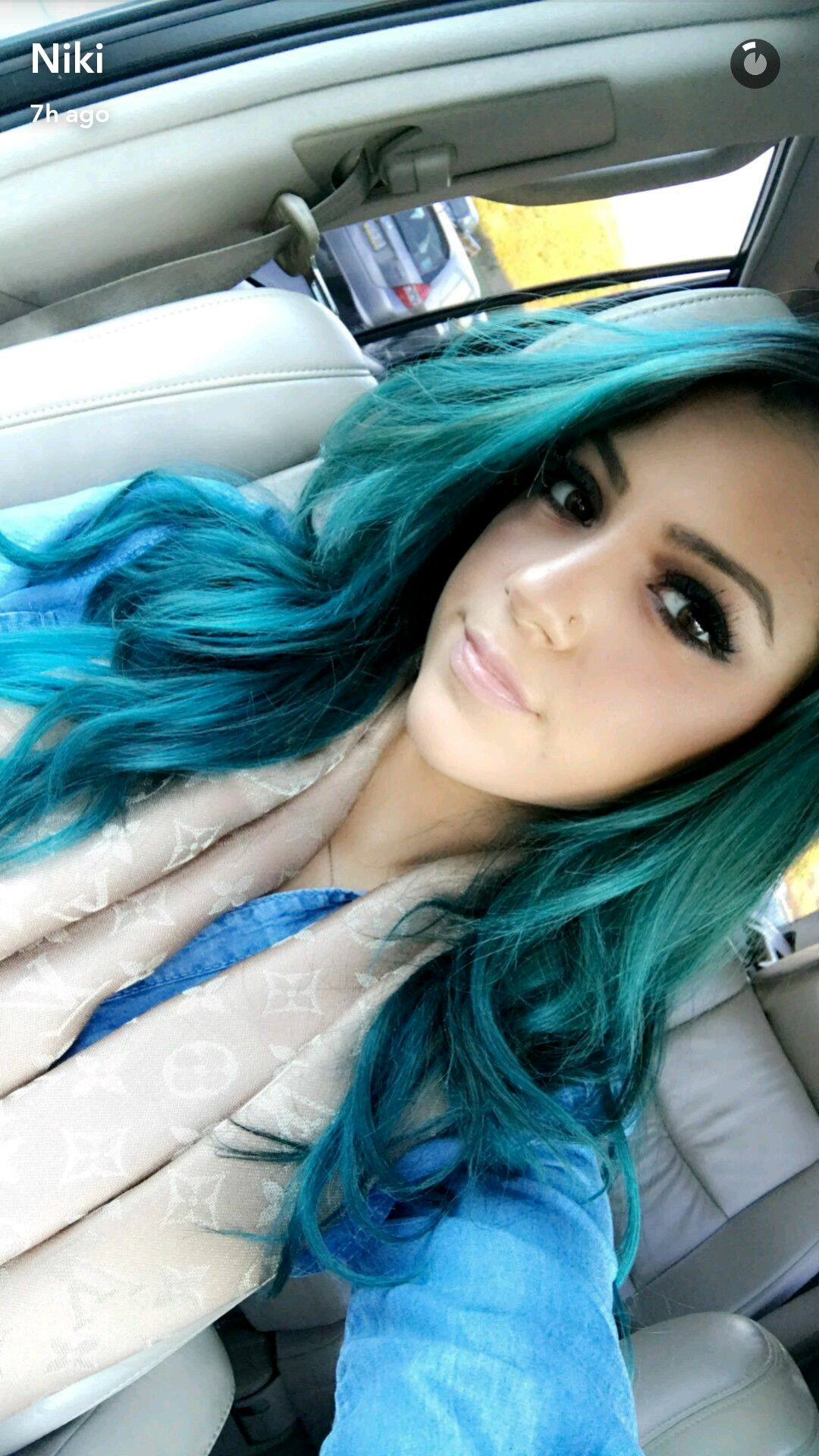 Flawless niki demartino pinterest hair coloring blue hair