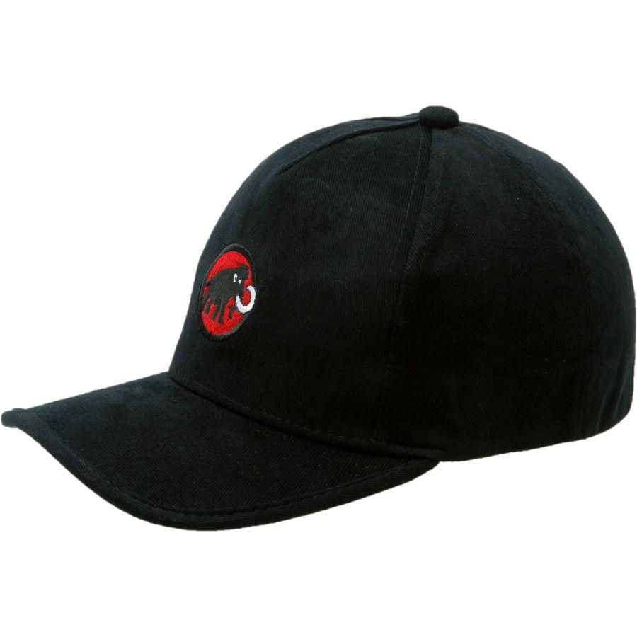 e714785f2 Mammut - Baseball Cap - Black/Fire | mammut