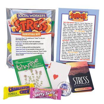Social Worker S Stress Survival Kit Item Sk 331 Life