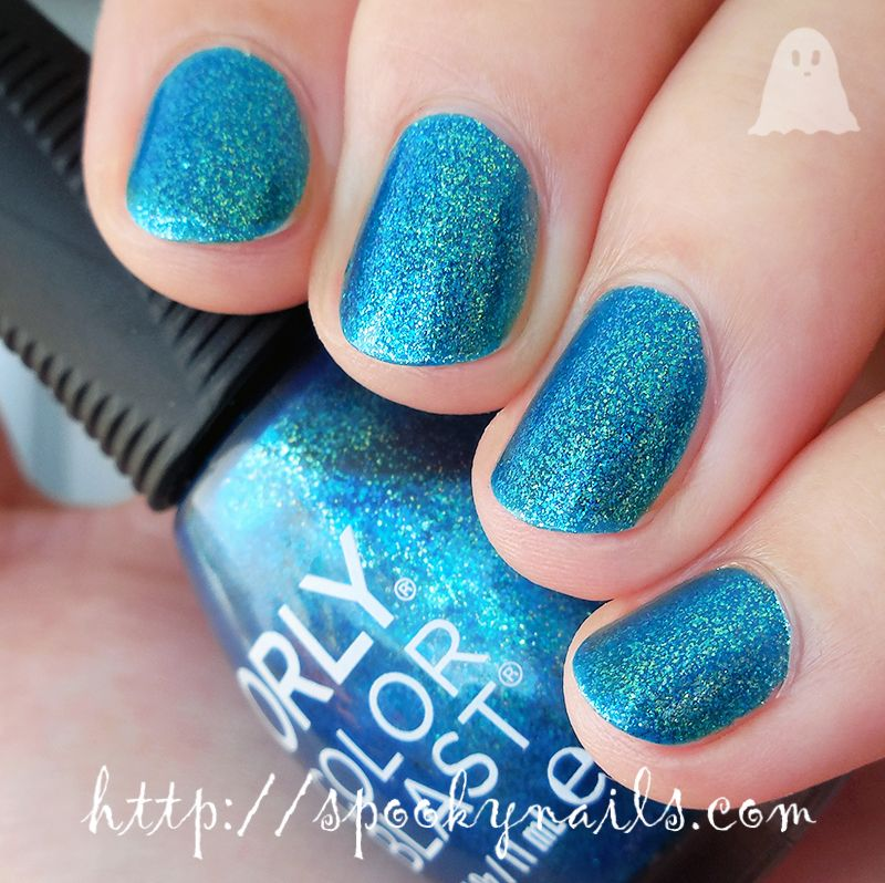 Orly Color Blast Turquoise Nails My Nails Nail Polish