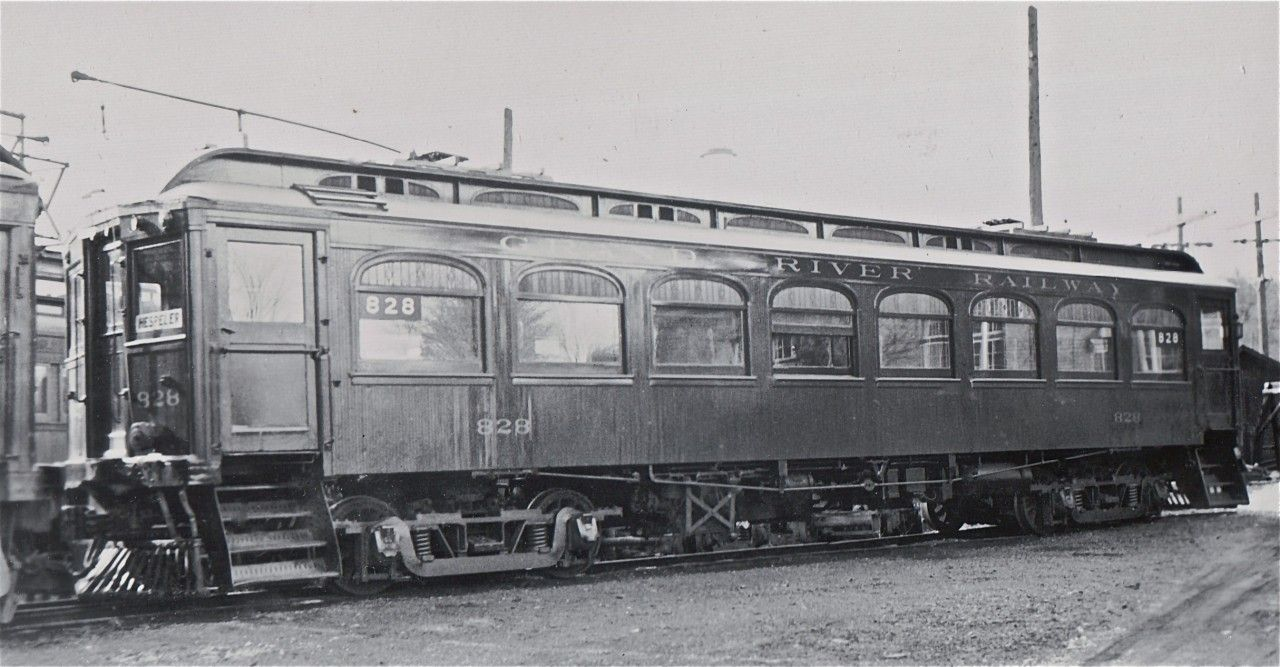 Grand River Railway 828 was built locally, by the Preston ...
