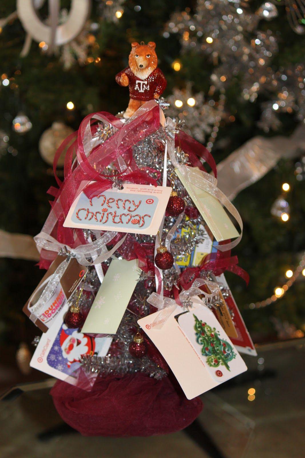 The Blackberry Vine: Gift Card Christmas Tree christmas ...