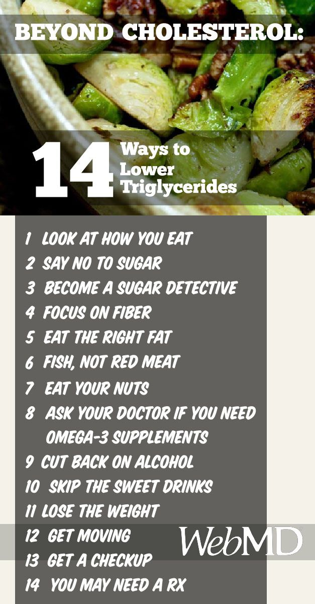 14 Ways To Lower Triglycerides For Mark Good Health