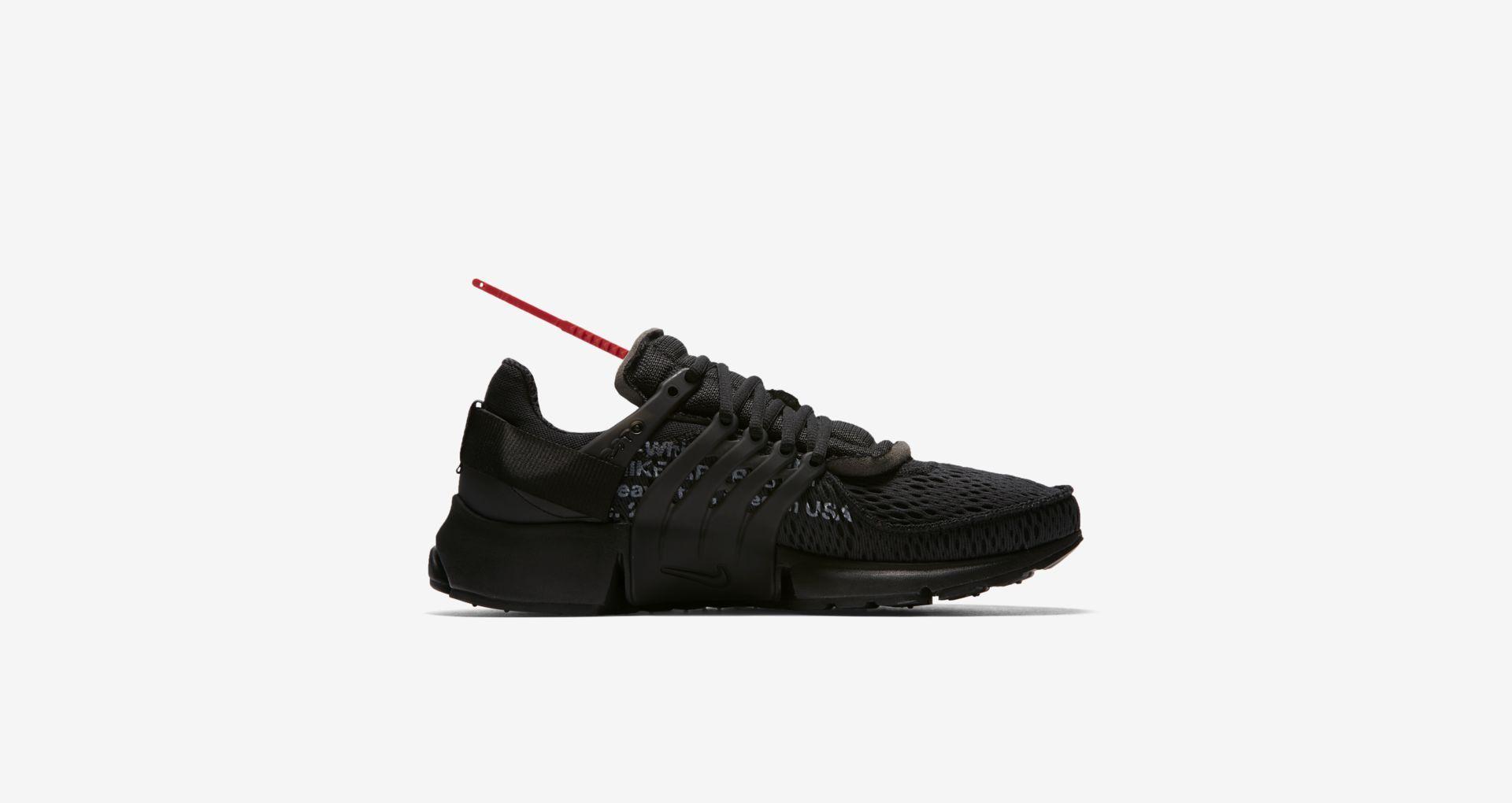 Off Weiß x Nike Nike x Air Presto schwarz in 2018 Sneaker Pinterest 84adf7