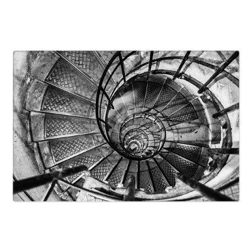 Best Spiral Staircase Arc De Triomphe Paris Metal Wall Art 400 x 300