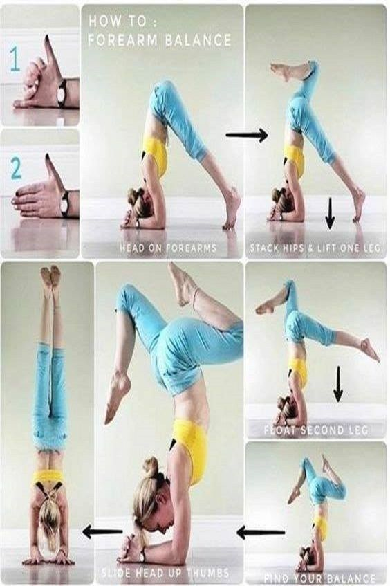 How to master forearm yoga pose?