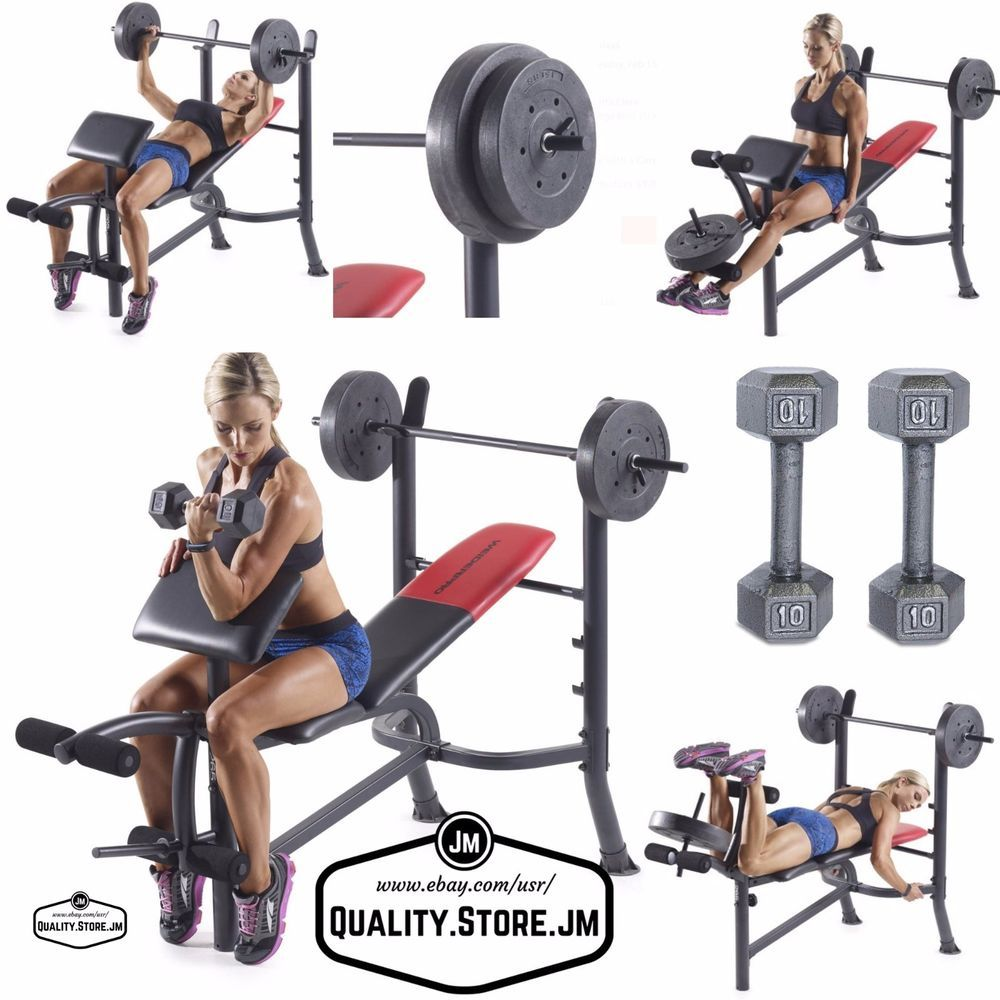 Bench Press With Weights Weight Set And Bar Weider Sets Benches Leg Extension Weiderpro Weight Benches Weight Bench Set Weight Set