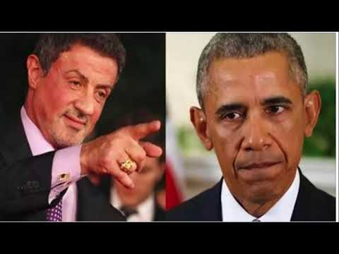 Image result for sylvester stallone: 'pathetic' obama is 'closet homosexual living a lie'