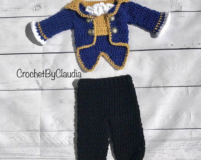 Beast Inspired Costume/Beauty and the Beast/Crochet Beast Hat/Disney ...