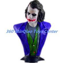 Statue Avengers Batman: The Dark Knight 1:1 Bust Joker (LIFE SIZE)Half-Length Photo Or Portrait Resin Head portrait Model Avatar //Price: $US $485.93 & Up to 18% Cashback on Orders. //     #homedecor