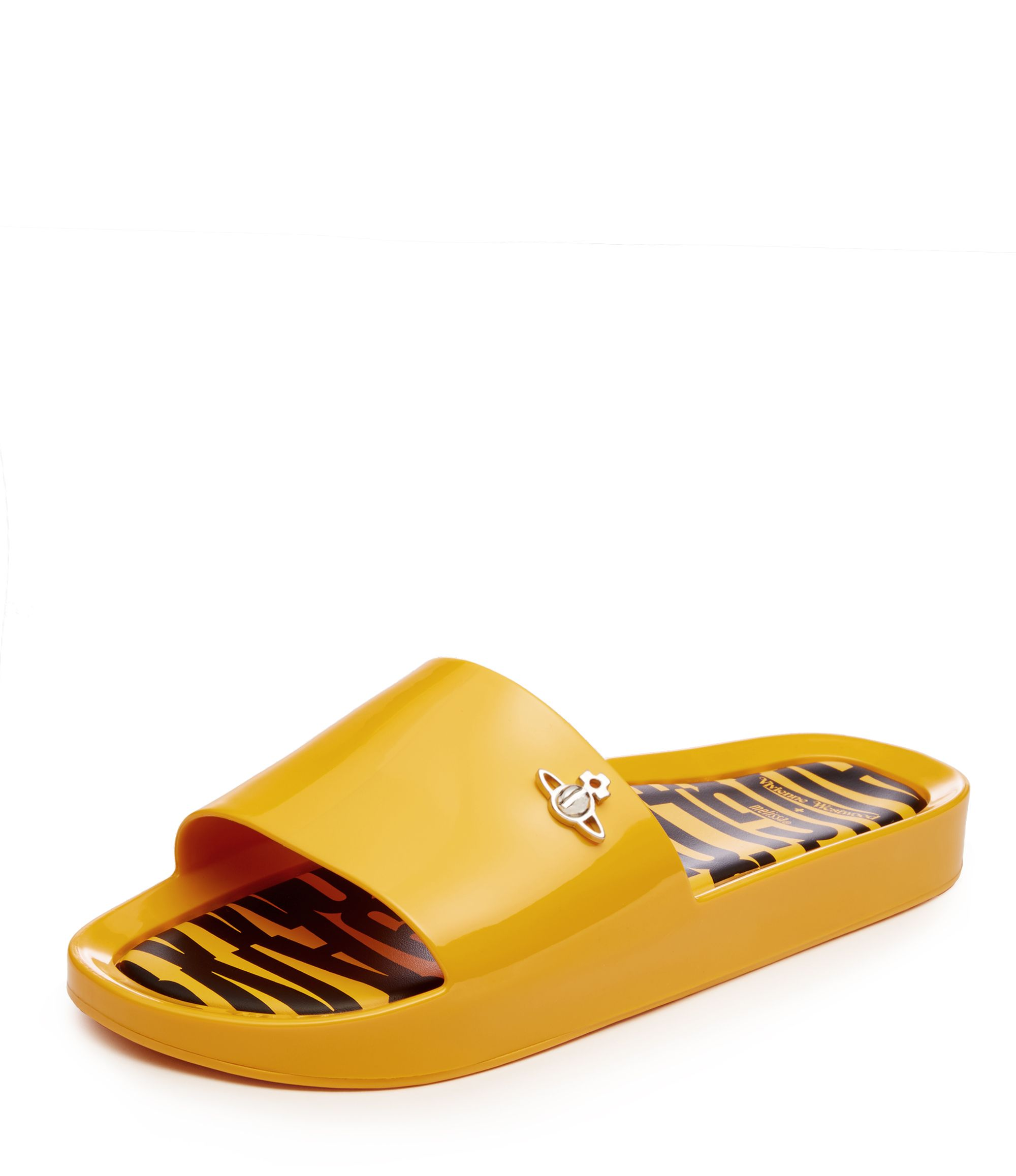 2fd63b150 VIVIENNE WESTWOOD Beach Slides Yellow. #viviennewestwood #shoes ...
