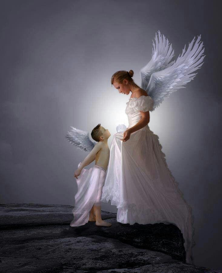 Открытки, картинки ангелов анимация