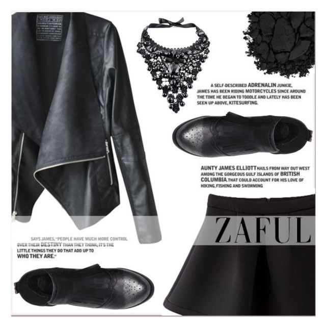 """www.zaful.com/?lkid=7011"" by lucky-1990 ❤ liked on Polyvore featuring mode et Urban Decay"