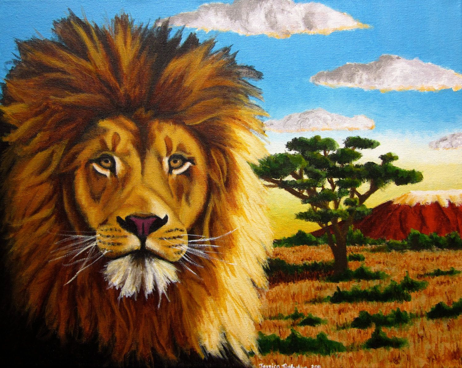 Lion and Lamb Painting LDS | Lion And Lamb Fine Art Print Lucie ... for Lion And Lamb Painting  111ane