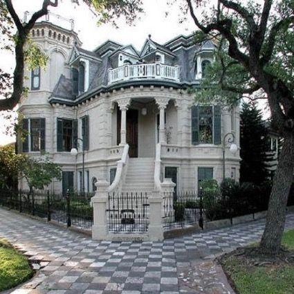 Galveston TX Gothic Mansion