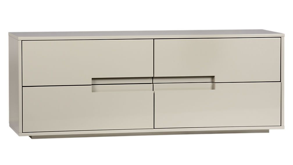 Laude Oat Low Dresser 400 Media Tv Wall